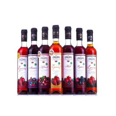 Vendégváró eperbor válogatás - Gyümölcsbor csomag